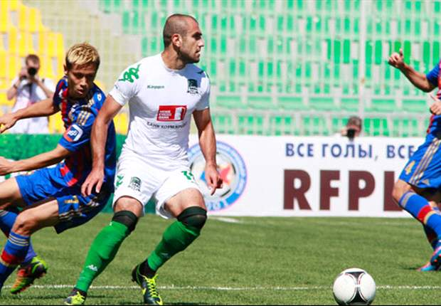 Armenian striker Yura Movsisyan's life has gone full circle as he stars in Russia