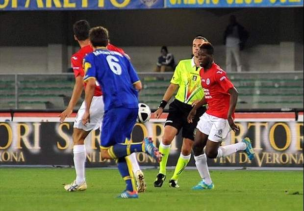 Masahudu Alhassan ends long lay-off after earning 90 mins action for Novara on Saturday