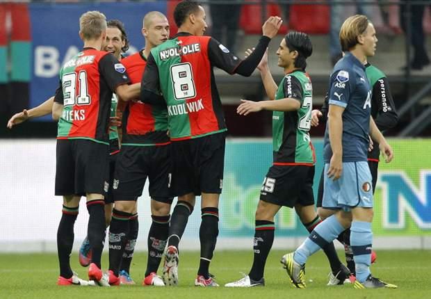 NEC aast op revanche tegen Feyenoord
