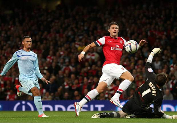 Giroud: Arsenal not complacent ahead of Chelsea clash