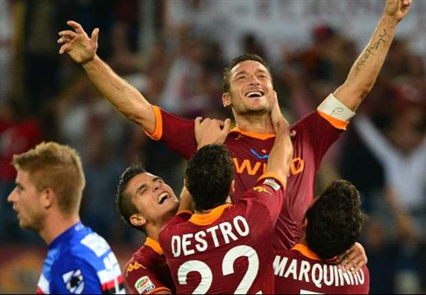 Juventus game unlike any other, says Totti
