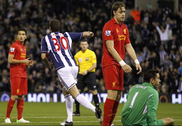 West Brom 1-2 Liverpool: Sahin at the double as Reds come from behind