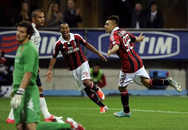 Serie A, 5ª giornata - Cavani a valanga sulla Lazio, El Shaarawy rilancia il Milan. Inter espugna Verona. Roma, Totti non basta