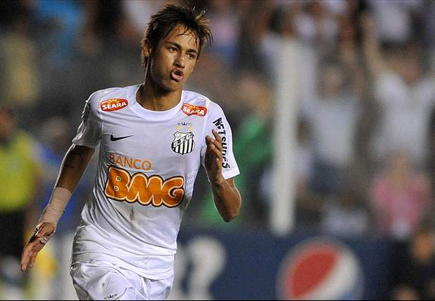 Santos' Neymar delighted to win Recopa Sudamericana