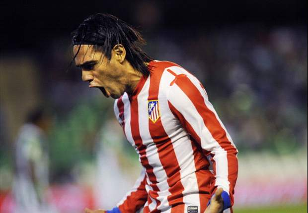My father told me to play with my heart and in attack, says Falcao