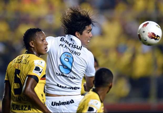Barcelona (EQU) 0 x 1 Grêmio: Tricolor é pressionado o jogo inteiro, mas consegue vitória na raça