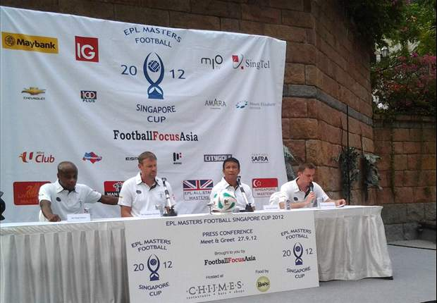 EPL Legends and Fandi Ahmad announce EPL Masters Cup squads