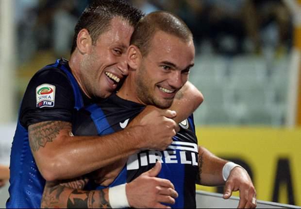Stramaccioni ritrova due frecce di qualità per il proprio arco: Sneijder e Coutinho tornano ad allenarsi in gruppo