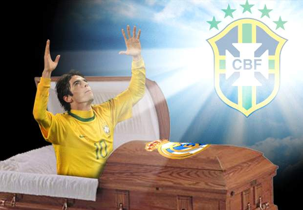 Kaká y el milagro de ser convocado por Brasil