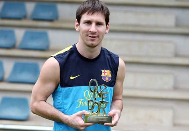 Más premios para Messi: ganó el Onze d'Or por tercera vez
