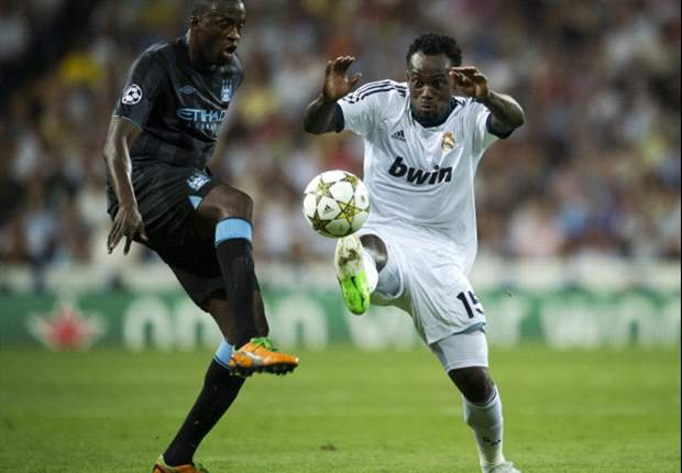 TEAM NEWS: Essien starts in defence for Real Madrid as they travel to Borussia Dortmund