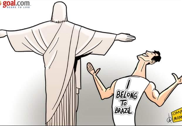 [만평] 카카, 브라질 대표 복귀