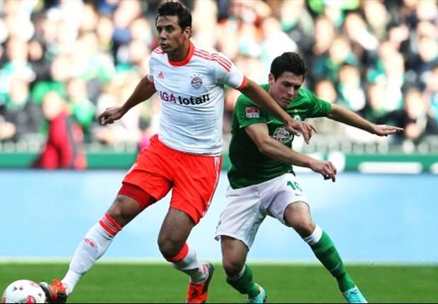 Werder Brema-Bayern Monaco 0-2: Luiz Gustavo-Mandzukic, i bavaresi restano a punteggio pieno