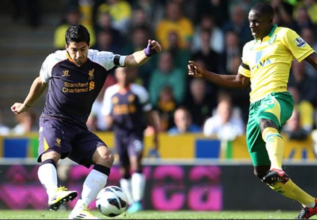 Deja Lu: Suarez terrorises Norwich again to kick-start Liverpool's season
