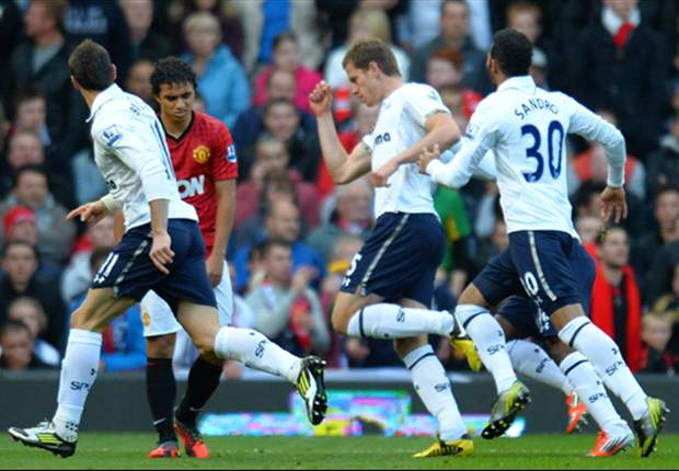 Manchester United 2-3 Tottenham: Vertonghen, Dempsey & Bale on target as Spurs weather second-half storm