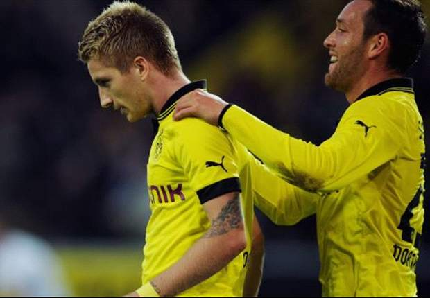 Bundesliga Team of the Week: Reus & Gundogan make the cut after Gladbach's thrashing