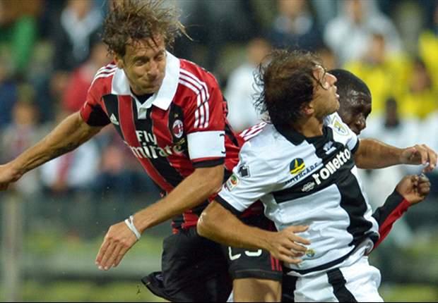 Milan fica no empate com o Parma e continua no meio da tabela