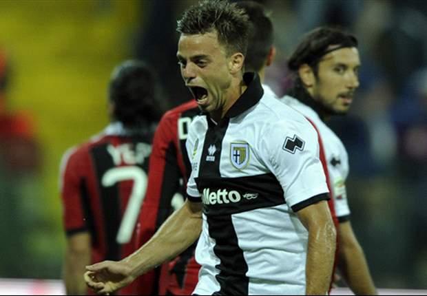 Parma houdt zwak Milan op 1-1