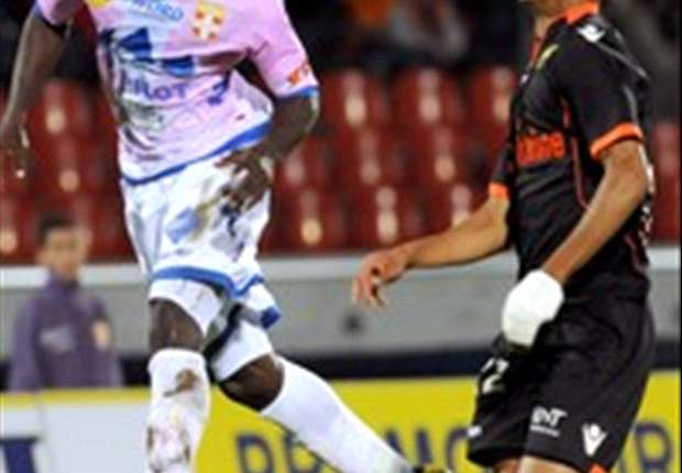 Evian Thonon's defender Jonathan Mensah back to training