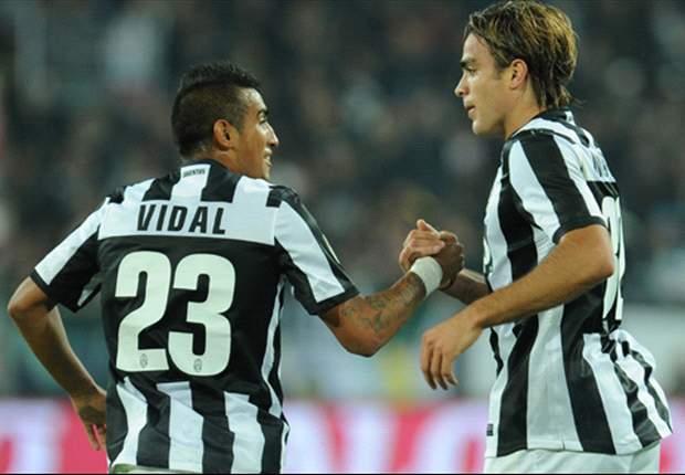 Juventus Turin führt den AS Rom vor – Pirlo, Vidal und Vucinic glänzen