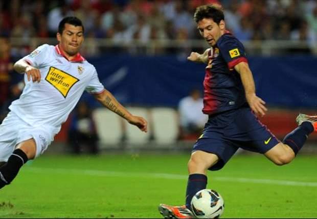 Roundup Primera Division: Malaga zerlegt Betis, Valencia siegt soverän, Barca mit Glück