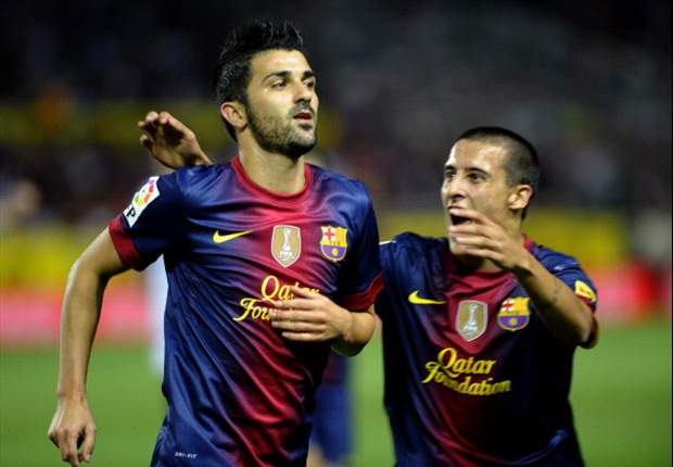 Barcelona cannot afford to relax in the Champions League, insists David Villa