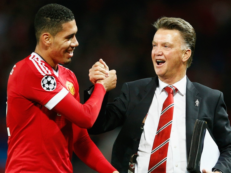 Oops! Van Gaal forgets Smalling's name after Man Utd win