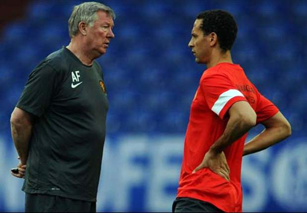 Sir Alex Ferguson 'happy' about Ferdinand England exclusion