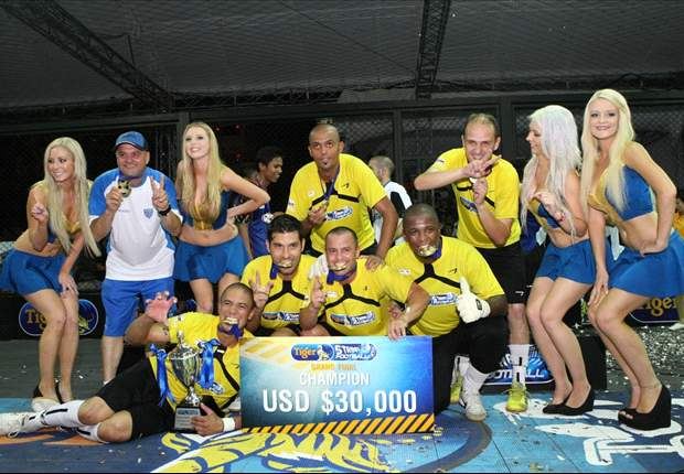 2012 Tiger Street Football: Brazilian team clinches title