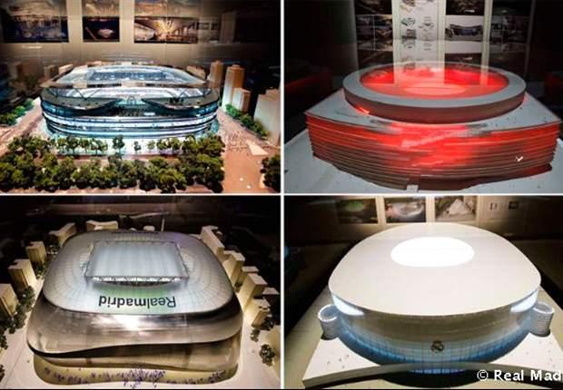 Florentino quiere un Bernabéu más grande
