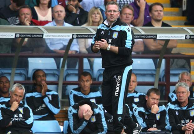 'We need to play the game and not the occasion' - Aston Villa boss Lambert