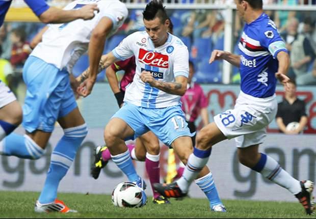 """Sampdoria ko sul Napoli, Tagliavento nel mirino: """"Gli insulti di De Laurentiis Jr. lo hanno condizionato"""""""