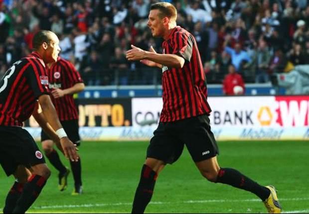 """Alex Meier ist trotz der ersten Niederlage optimistisch: """"Werden unser Spiel nicht umstellen"""""""