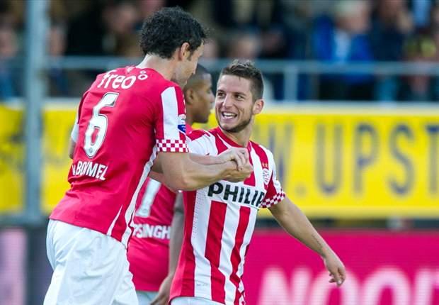 PSV zonder Van Bommel, Mertens en Willems