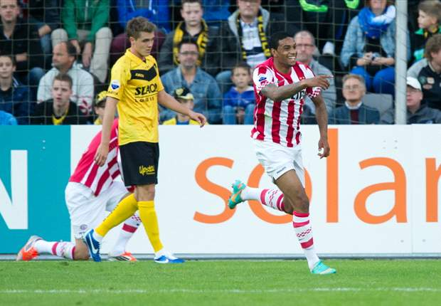 PSV striker Jurgen Locadia delighted with debut hat-trick