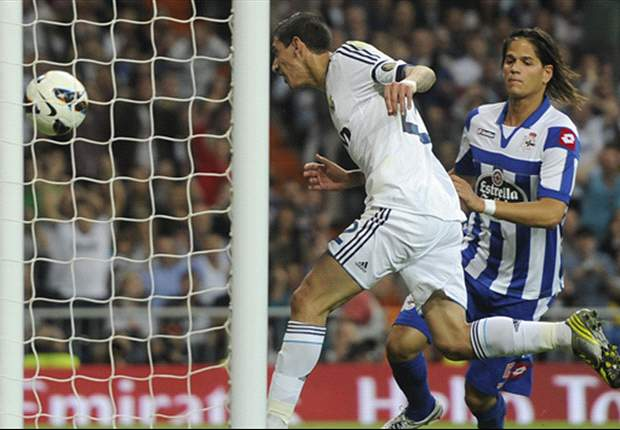 Ronaldo loodst Real langs Deportivo