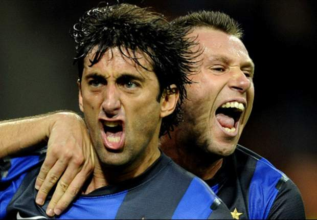 TEAM NEWS: Cassano and Milito start in attack for Inter in derby encounter with AC Milan