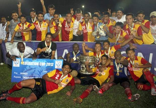 Efficient East Bengal lay down the marker in the I-League