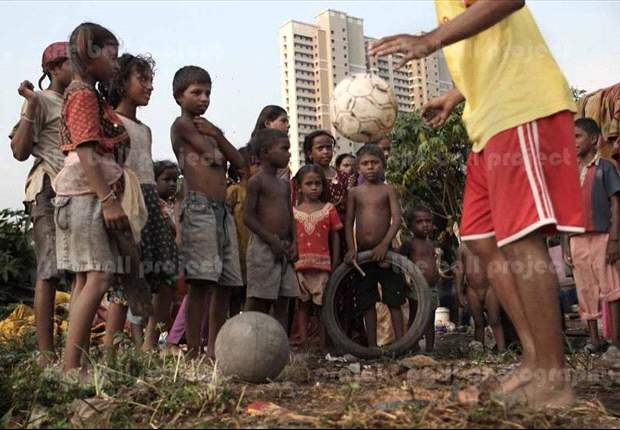 The Ball Project: Using football to inspire children to a better life