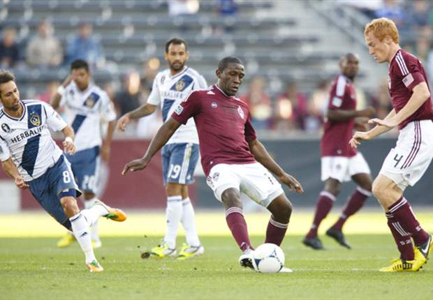 Colorado Rapids 1-1 Los Angeles Galaxy: Rapids settle for home draw