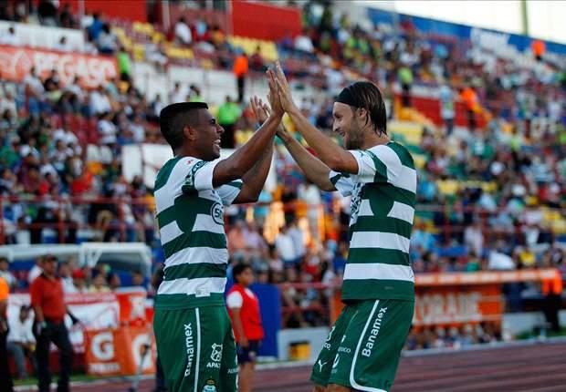 Atlante 1-3 Santos Laguna: El campeón revive a costa de los Potros