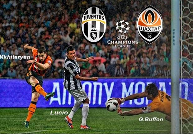 Juventus - Shakhtar Donetsk: Jaga Tren Positif