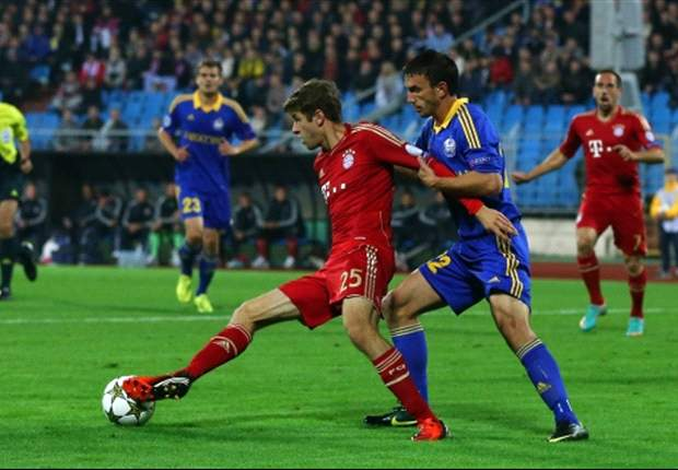 Bayern's Muller: I don't know any tricks