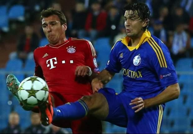 BATE 3-1 Bayern de Múnich: El conjunto bielorruso protagoniza la sorpresa de la jornada