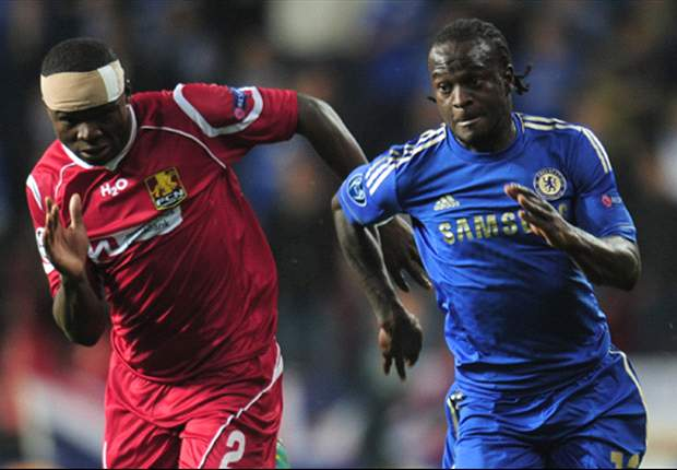 Victor Moses enjoyed his Chelsea Champions League debut