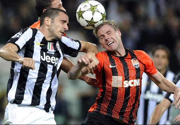 Shakhtar Donetsk Paksa Juventus Bermain Imbang