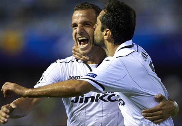 Valencia respira luego de vencer al Getafe