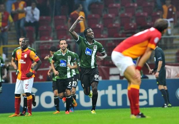 Galatasaray 0-2 Braga: Ruben Micael & Alan seal victory for Portuguese