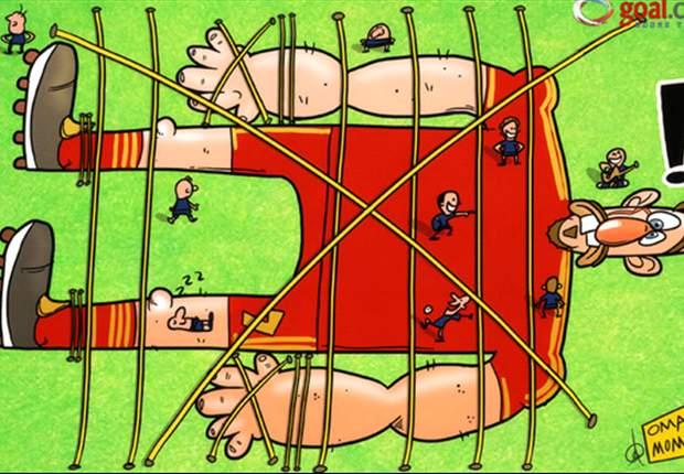 [만평] 거인을 잡은 보리소프