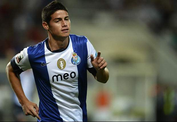 Inter set sights on James Rodriguez